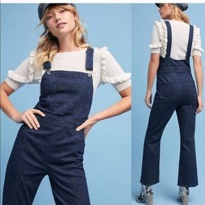 Pilcro and the Letterpress Jeans - Anthropologie Pilcro Denim Overall Jumpsuit